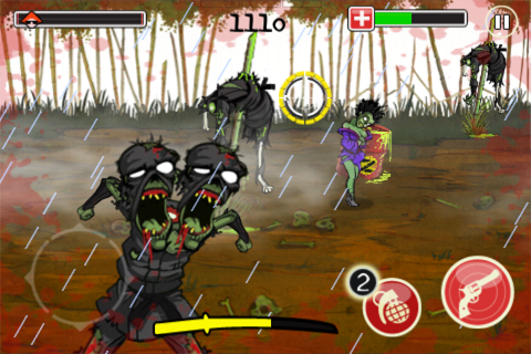 Screenshot Katana Zombie