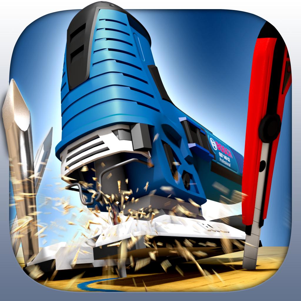Dust Fighter – Säge so präzise wie möglich! iOS